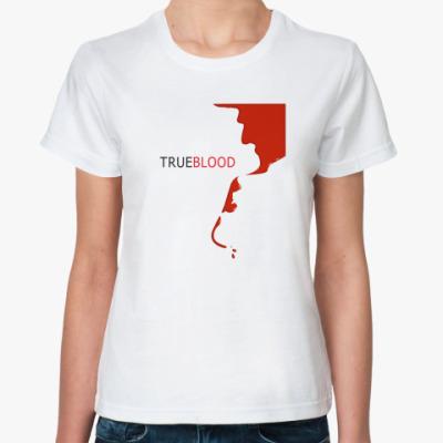 Классическая футболка True blood