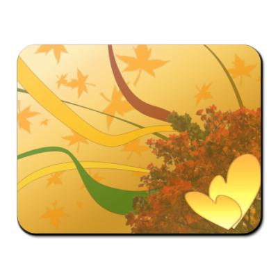 Коврик для мыши Золотая любовь