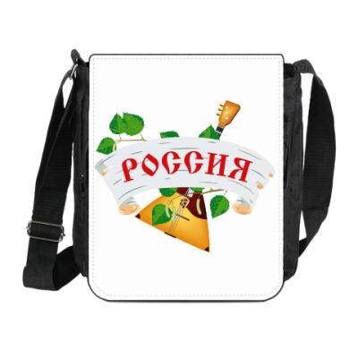 Сумка на плечо (мини-планшет) Россия