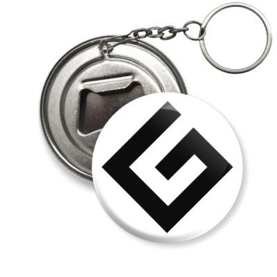Брелок-открывашка Граммарнацистская открывашка