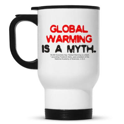 Кружка-термос Global warming