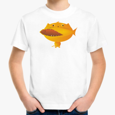Детская футболка кошка
