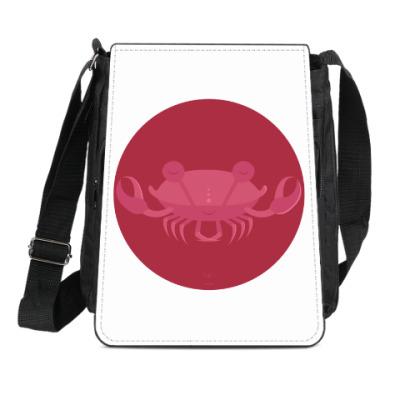 Сумка-планшет Animal Zen: C is for Crab