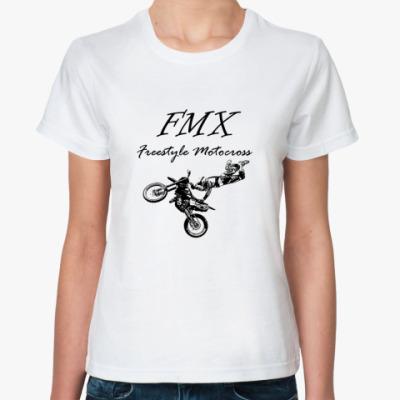 Классическая футболка мотокросс