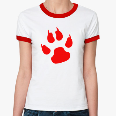 Женская футболка Ringer-T Zver
