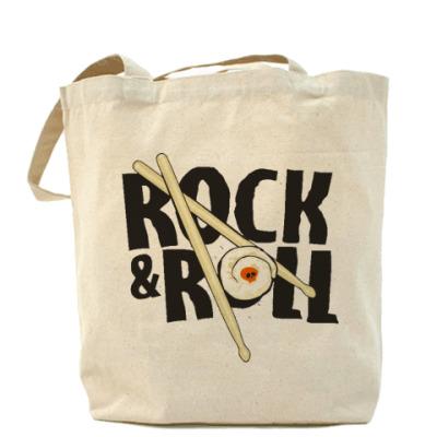 Сумка Холщовая сумка ROCKnROLL