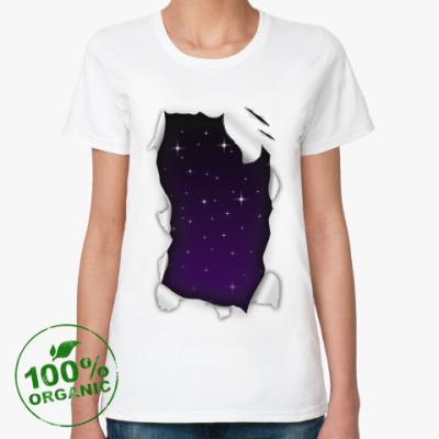 Женская футболка из органик-хлопка 'Звёзды'