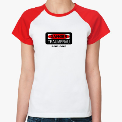 Женская футболка реглан Traumfrau