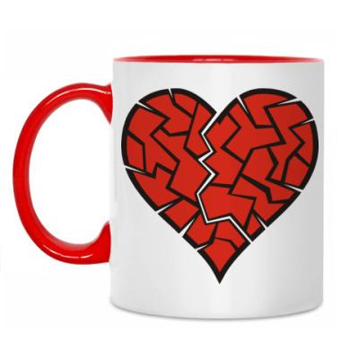 Кружка Разбитое сердце