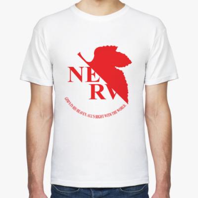 Футболка Евангелион / Evangelion - NERV Logo