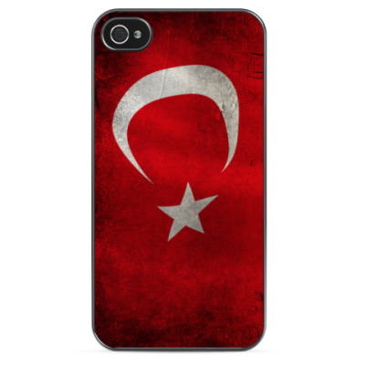 Чехол для iPhone Флаг Турции