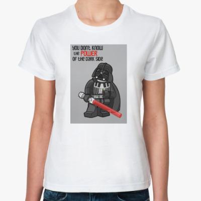 Классическая футболка Lego Darth Vader