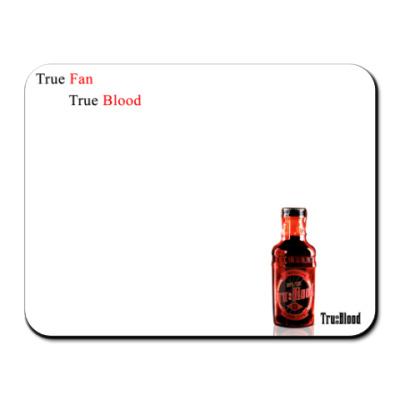Коврик для мыши  True Blood