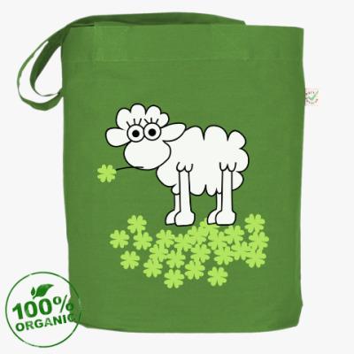 Сумка Овца с клевером
