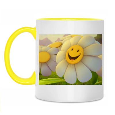 Кружка Smile Flower