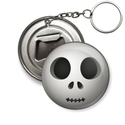 Брелок-открывашка  'Скелет'