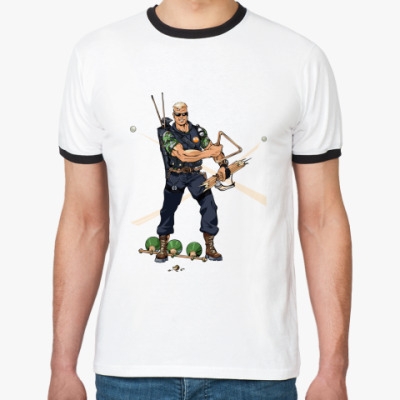 Футболка Ringer-T Billiard Ranger
