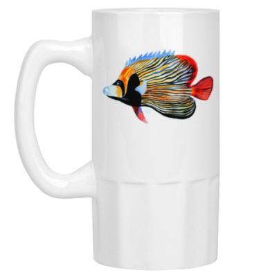 Пивная кружка рыбный день
