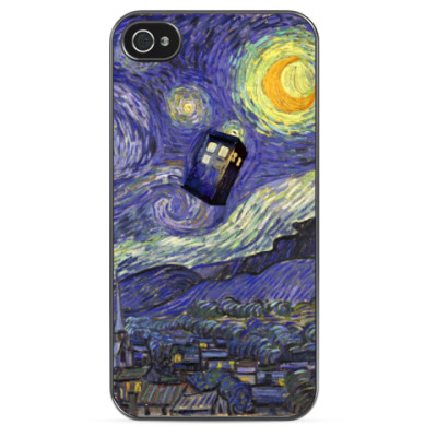Чехол для iPhone Доктор Кто