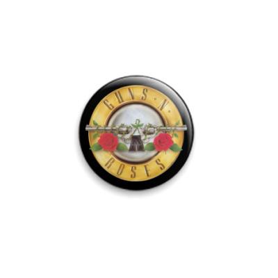 Значок 25мм Guns'N'Roses