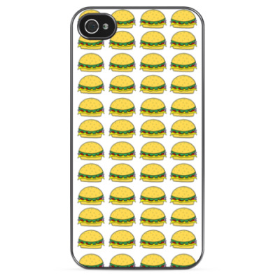 Чехол для iPhone Tasty Burgers