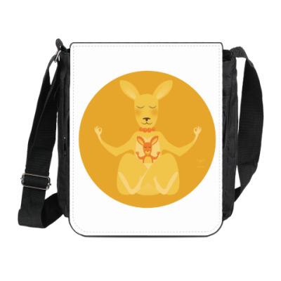 Сумка на плечо (мини-планшет) Animal Zen: K is for Kangaroo