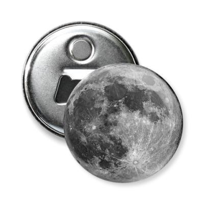 Магнит-открывашка -открывашка Луна