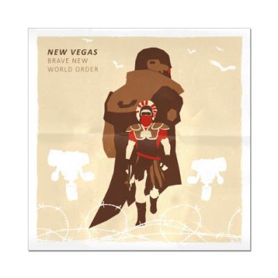 Наклейка (стикер) Fallout: New Vegas