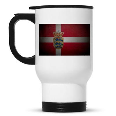 Кружка-термос 'Датский флаг'