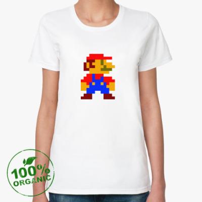 Женская футболка из органик-хлопка Марио