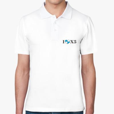 Рубашка поло I love X5