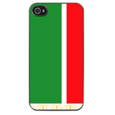 Чехол для iPhone Флаг Чеченской Республики