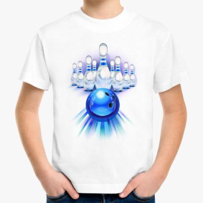 Детская футболка Боулинг (Bowling)