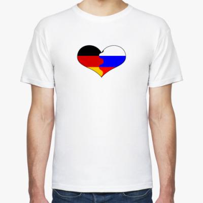Футболка Россия - Германия