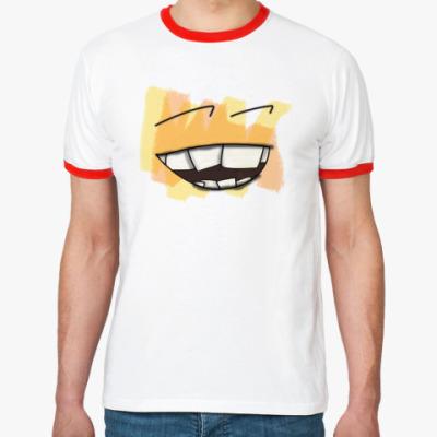 Футболка Ringer-T UWrong Smile