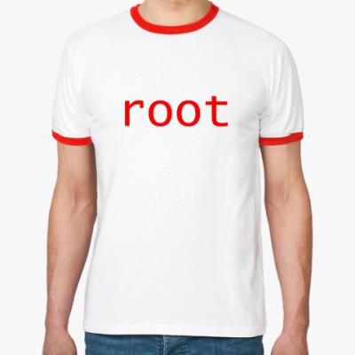 Футболка Ringer-T root