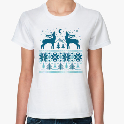 Классическая футболка Норвежский лес