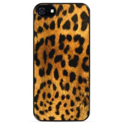 Чехол для iPhone Леопард