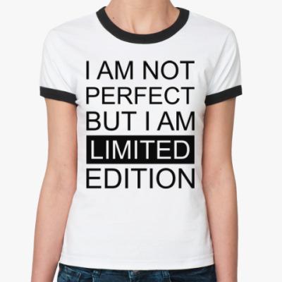 Женская футболка Ringer-T Limited Edition