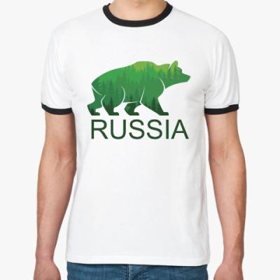 Футболка Ringer-T Россия, Russia