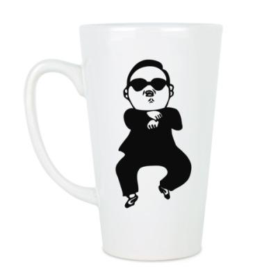 Чашка Латте В стиле гангнам (gangnam)