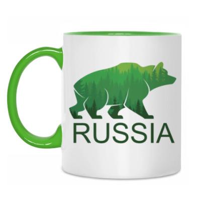 Кружка Россия, Russia