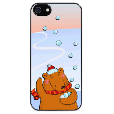 Чехол для iPhone Медведь