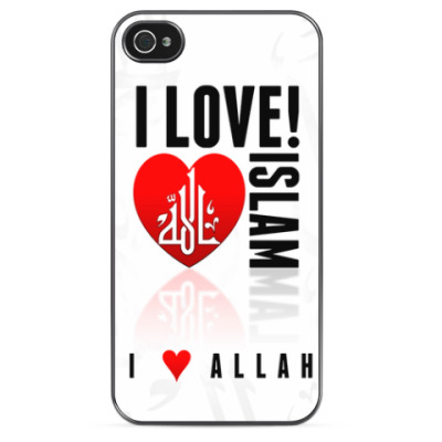 Чехол для iPhone I Love Islam
