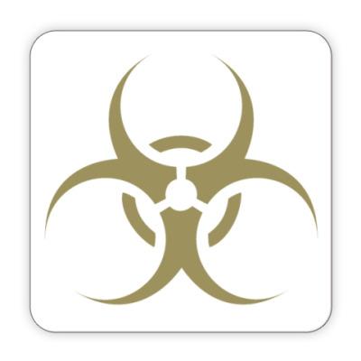 """Костер (подставка под кружку) Подставка """"biohazard"""""""