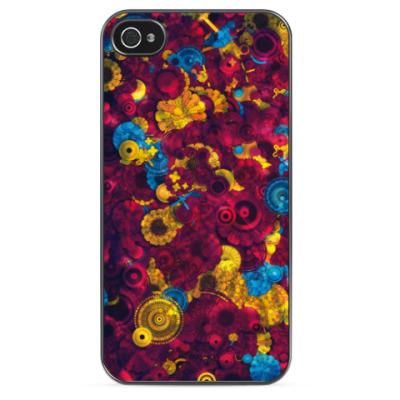 Чехол для iPhone Цветная абстракция