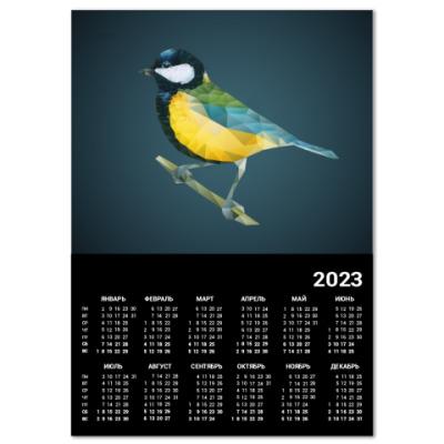Календарь Птица Синица