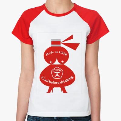 Женская футболка реглан Cool before