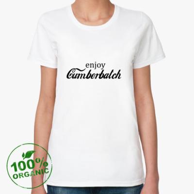 Женская футболка из органик-хлопка Cumberbatch