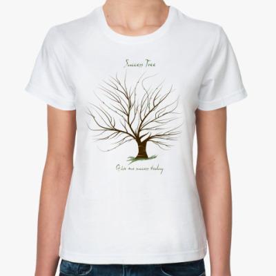 Классическая футболка  'Дерево Удачи'
